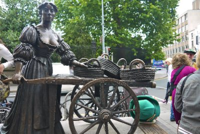 Molly Malone in Dublin