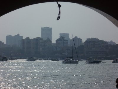 Mumbai from the boat