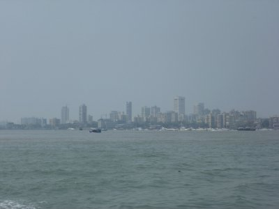 Mumbai skyline from the bay