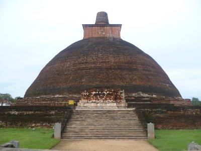 The Jetavanaramaya Dagoba in Anuradhapura