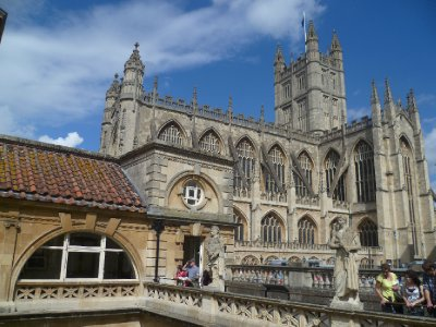 Bath Abbey exterior