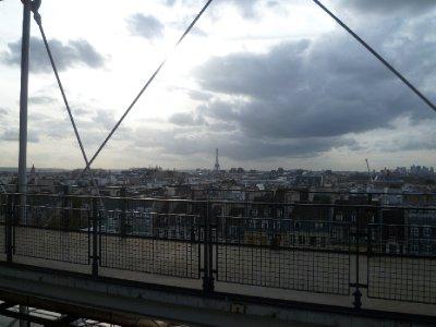 Paris skyline from the Pompidou