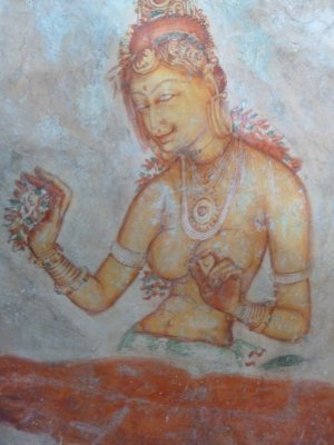 Sigiriya rock art