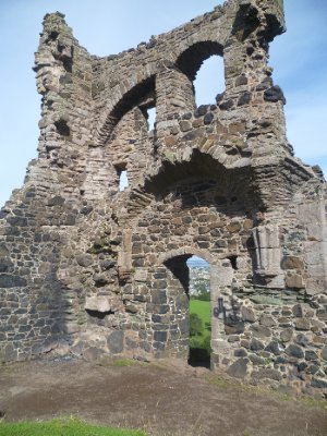 St. Anthony&#39;s Chapel in Holyrood Park
