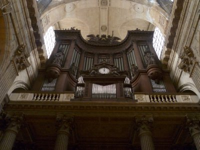The 6700-pipe organ in St-Sulpice