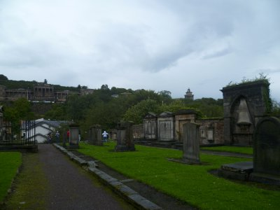 The Canongate Kirkyard
