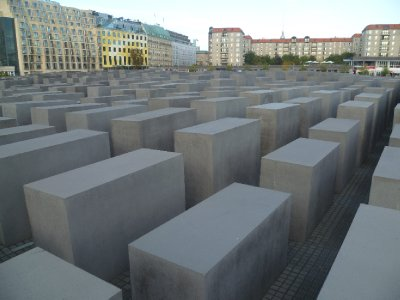 The Holocaust Denkmal (memorial)