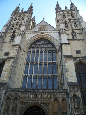 The cathedral exterior