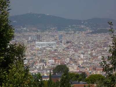 The view from Montjuic