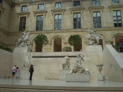 The winged horses of Marly