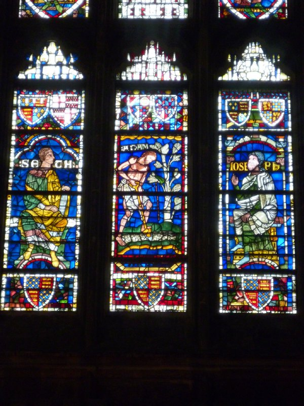 Century-old stained glass