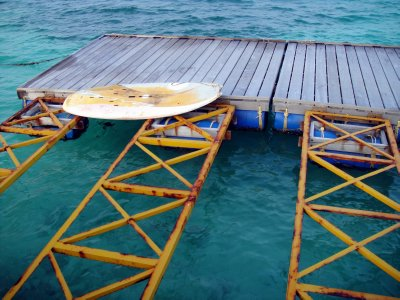 Maldivian Air taxi Jetty
