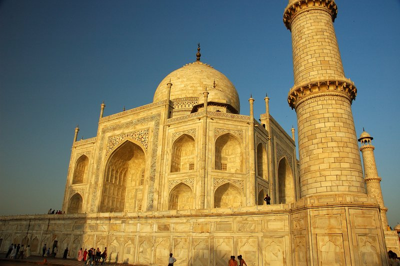 The obligatory Taj pic