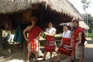 In Ifugao Costume