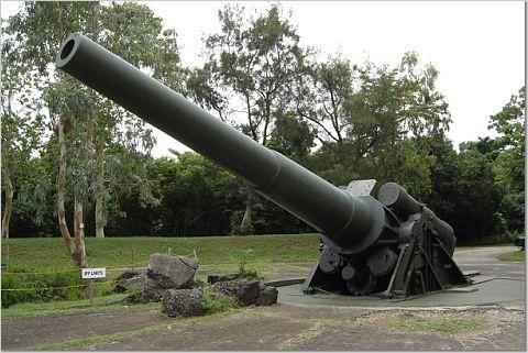 Corregidor's longest cannon