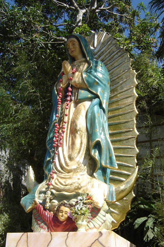 Image of Guadalupe in Pagsanjan River