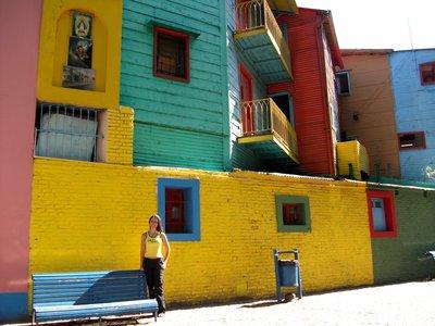 Bohemian neighbourhood La Boca, Buenos Aires