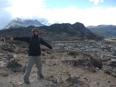 Windy El Chalten, Argentina