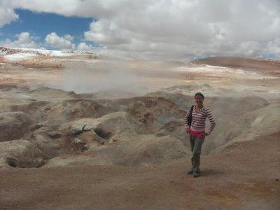 Geysers, Bolivia
