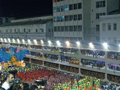 The Sambadrome, Rio
