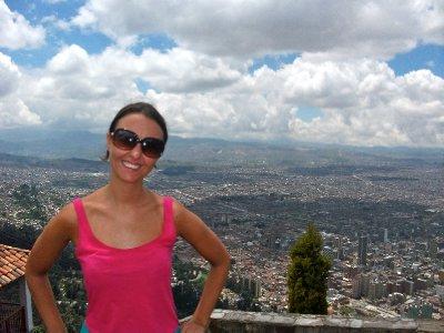 Overlooking the huge Capital of Colombia: Bogota