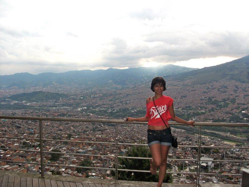Overlooking Medellin