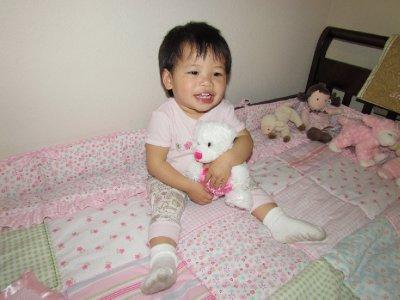 First Valentine Bear