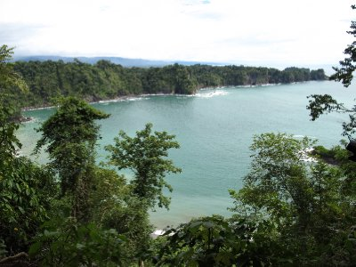 View in Manuel Antonio National Park