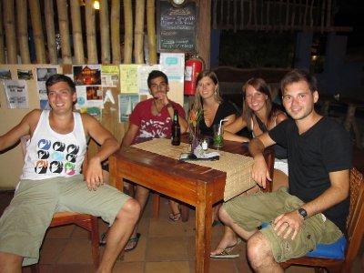 Night out in San Juan del Sur