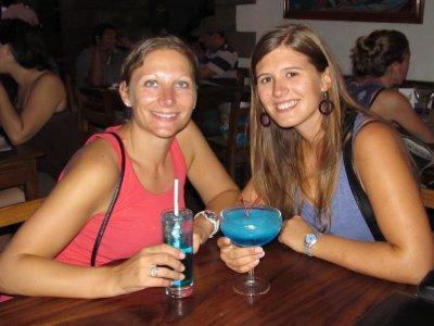 Blue cocktails León