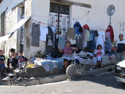 Market lady in Izalco posing for my photo