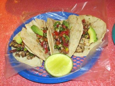 Rabbit tacos