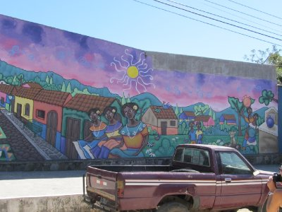 Ataco wall painting