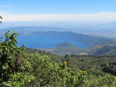 View of Lake Coatepeque