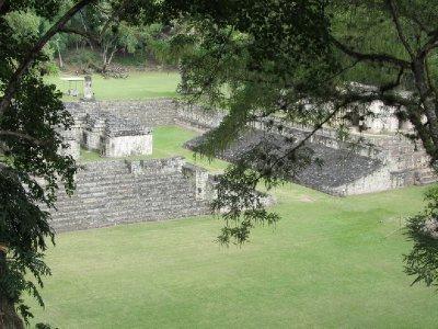 Copán ruins - the ball court