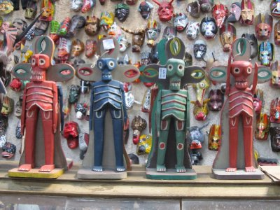 Artisan market in Antigua