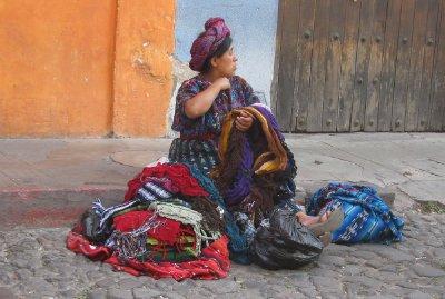 Indigenous woman in Antigua