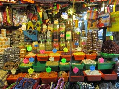 At the market in Oaxaca