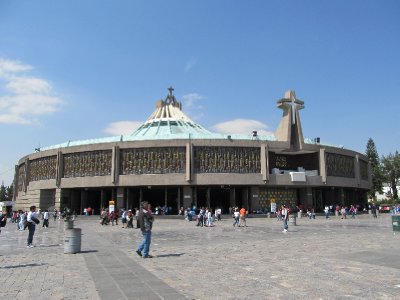 Ugly new Basilica de Guadalupe