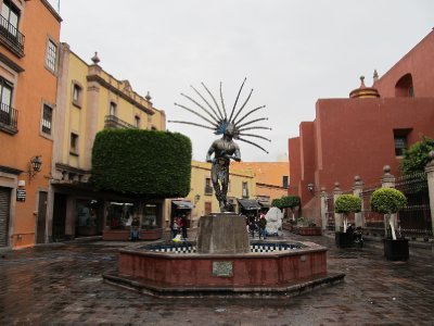 Statue in Querétaro