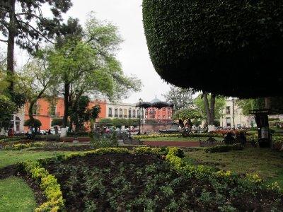 Plaza in Querétaro
