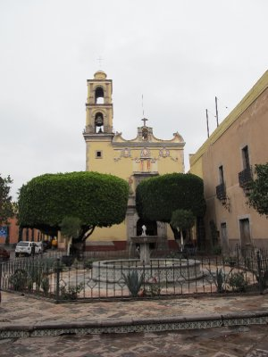 Church in Querétaro