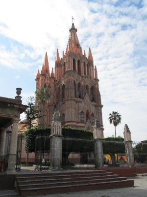 Parroquia in San Miguel de Allende
