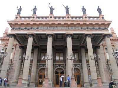 Teatro Juárez in Guanajuato
