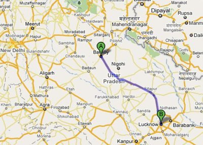 Day 3 bareilly to Luckhnow
