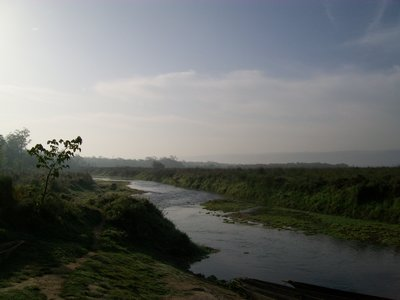 The beautiful crossing to Chitwan National Park