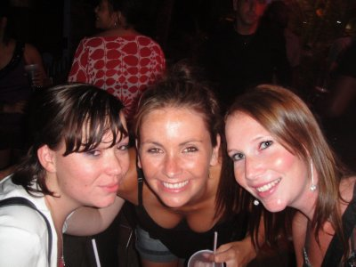 CLAIRE, TASH AND ASH AT THE GRAND