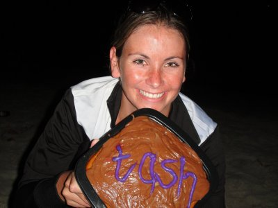 TASH AND HER CAKE