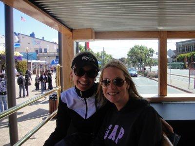 TASHLEY ON BUS TOUR