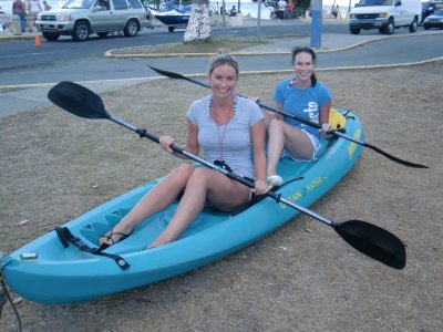 TRAINING FOR THE KAYAK PADDLE